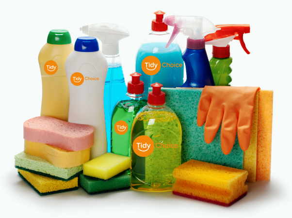 cleaning products array